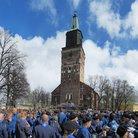 Tänäkin vuonna partiolaisia osallistui yli 3800, säästä huolimatta.